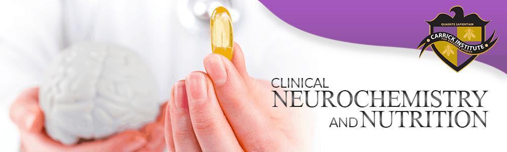 Neurochemistry & Nutrition Banner