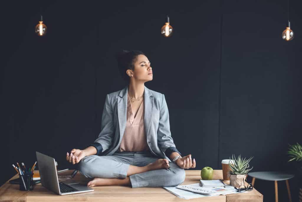 Stress management and meditation