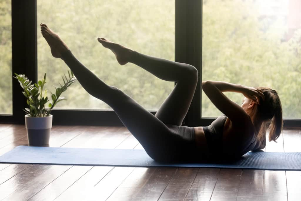 Exercise for stress management and eating